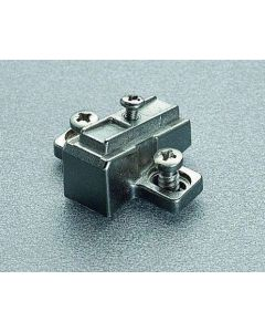 Baseplate Salice Cross Shape Cast Slip-on PN: B2VGBW9 15° Fixed Angle
