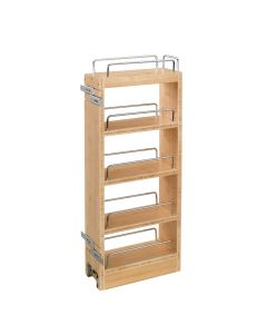 "8"" Wall Organizer with Adjustable Shelves for 12"" Wall Cabinet Natural, SKU: 448-WC-8C"