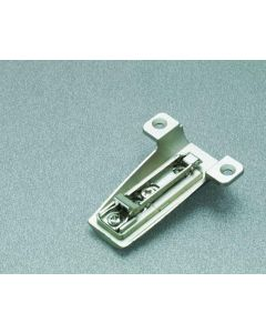 Baseplate Salice Half Moon Face Frame Plate Cast/Steel Clip-on PN: BAM3R09 -11mm Height