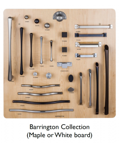 Top Knobs Barrington Collection Display Board on Maple