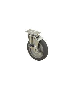 """C11-2041 3"""" Brake Swivel 150 lb Caster"""