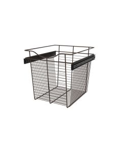 Pull-Out Closet Basket, 18W x 20D x 18H Oil Rubbed Bronze CB-182018ORB-1