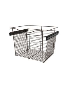 Pull-Out Closet Basket, 24W x 20D x 18H  Oil Rubbed Bronze CB-242018ORB-1