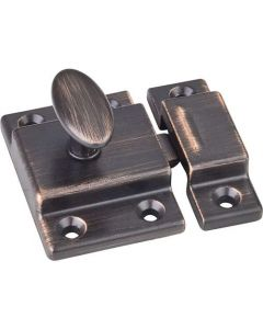 Brushed Oil Rubbed Copper Latch by Jeffrey Alexander sold in Each - CL101-DBAC