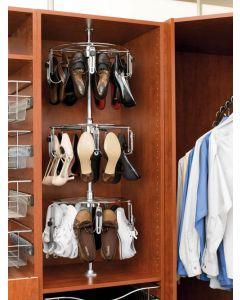 3 shelf Women's Shoezen with Shaft  Chrome