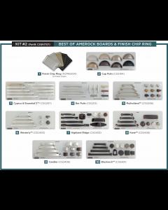 Amerock Kit 2 Display Board Kit on Gray