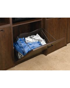 Closet Tilt Out Hamper Basket   Oil Rubbed Bronze