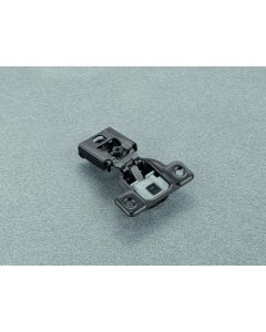 "1/2"" Overlay Concealed Hinge Salice 106° Opening Screw-on Soft-close Compact 1 Piece PN: CUP37D6"