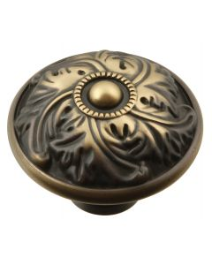 Authentic Brass Knob by Keeler Cabinet sold in Each - D36-9312