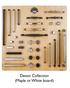Top Knobs Devon Collection Display Board on Maple