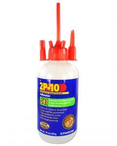 Fastcap 2P-10 Instant CA Glue Gel 10 Oz Ethyl Cyanoacrylate
