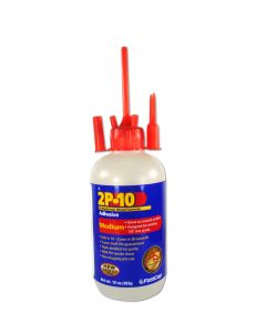 Fastcap 2P-10 Instant CA Glue Medium 10 Oz Ethyl Cyanoacrylate