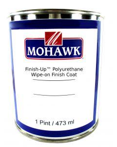 Mohawk Finish-Up™ Polyurethane Wipe-On Finish Coat >80 Sheen Clear Gloss 1 Pint