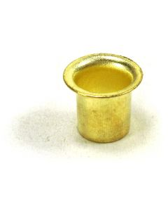 Shelf Pin Metal Grommet 7mm Brass Finish Bag 100 PN: FT58274BR