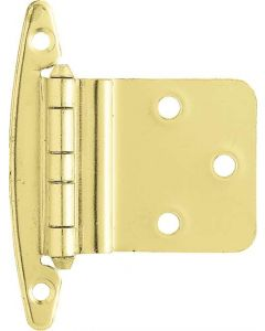 "Brass Plated 2-3/16"" [57.00MM] Non Self-Closing Hinge by Liberty - H00930C-PB-O2"