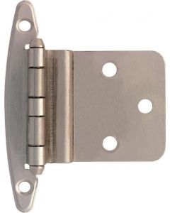 "Satin Nickel 2-5/32"" [55.00MM] Non Self-Closing Hinge by Liberty - H00930L-SN-U1"
