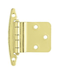 "Brass Plated 2-3/16"" [57.00MM] Non Self-Closing Hinge by Liberty - H00930V-PB-O"