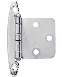 """Chrome Plated 1-13/16"""" [44.50MM] Non Self-Closing Hinge by Liberty - H01010C-CHR-O2"""