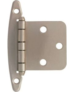 "Satin Nickel 1-25/32"" [45.00MM] Non Self-Closing Hinge by Liberty - H01010L-SN-U"