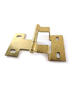 Polished Brass Semi-Wrap Hinge by Rockford Process sold in each