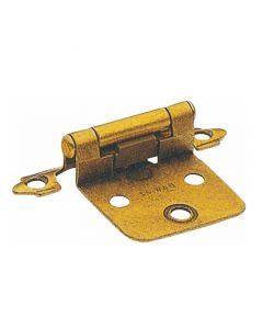 Polished Brass Surface Face Mounted Hinge by Siquar sold in Pair - H5003-BP-BP