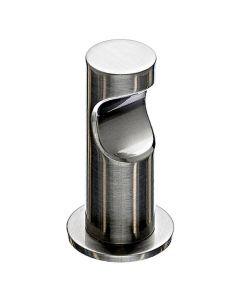 "Brushed Satin Nickel 1-1/2"" [38.00MM] Robe Hook by Top Knobs sold in Each - HOP1BSN"