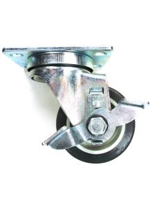 """6C523001PPPGTLB 3"""" Brake Swivel 250 lb Caster"""