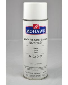 Mohawk Ultra-Flo Clear Aerosol Lacquer 30-35 Sheen Clear Satin 13 Ounces