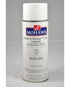 Mohawk Finisher'S Choice™ Clear Aerosol Lacquer 15-20 Sheen Clear Flat 13 Ounces