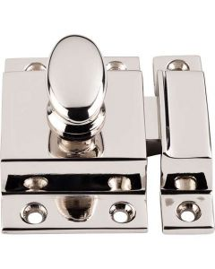 "Polished Nickel 2"" [51.00MM] Latch by Top Knobs sold in Each - M1784"