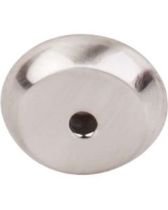 "Brushed Satin Nickel 7/8"" [22.00MM] Backplate for Knob by Top Knobs sold in Each - M2023"