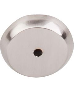 "Brushed Satin Nickel 1-1/4"" [32.00MM] Backplate for Knob by Top Knobs sold in Each - M2026"