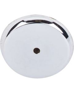 """Polished Chrome 1-3/4"""" [44.50MM] Backplate for Knob by Top Knobs sold in Each - M2030"""