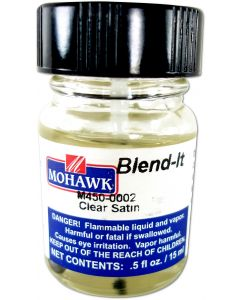 Mohawk Blend-Its Liquid Filler And Topcoat Touch Up Satin Clear Satin 1/2 Ounce