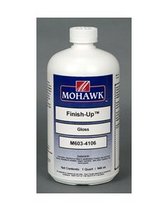 Mohawk Finish-Up™ Polyurethane Wipe-On Finish Coat 45-50 Sheen Clear Satin 1 Quart