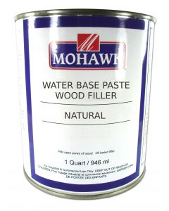 Mohawk Finishing Products Wood Filler Water-based 1 Quart Natural