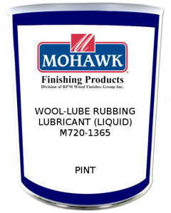 Wool-Lube Rubbing Lubricant (Liquid) Pint From Mohawk - M720-1365