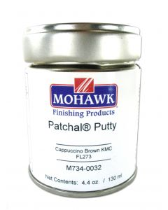 Mohawk Finishing Products Patchal Wood Putty Cappuccino Brown #fl273 4.4 oz. - M734-0032