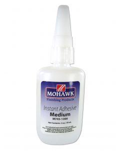Mohawk Finishing Products Industrial Grade Instant CA Glue Medium Viscosity 2 Oz Ethyl Hybrid CA