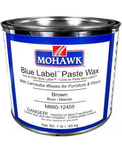 Mohawk Blue Label Paste Wax Brown 1 Lb
