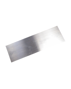 "Metal finish and filler scraper 2""x6""x0.016"" Spring Steel"