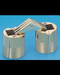 """Brass 3/4"""" (18MM) Mortise Cylinder Hinge"""