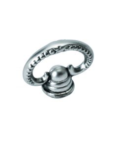Silver Stone Finger Pull by Hickory Hardware sold in Each - P3476-ST