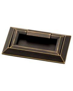 "Bronze / Gold Highlights 3"" [76.20MM] External Mount Pull by Liberty - P34967-VBG-C"