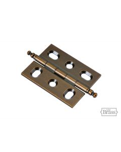 Wellington Bronze Mortise Hinge by Keeler Cabinet sold as Pair - P8290-15R