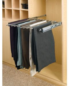 "Pants Rack - 9 Capacity, 14"" Depth Chrome"