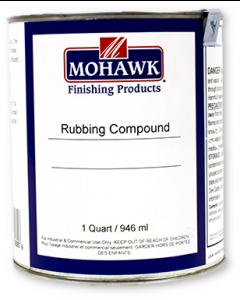Liquid Rubbing Compound, Level I Low Sheen, Black Quart - M730-4006
