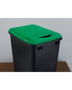 35 Quart Waste Container Lid  Green