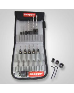 48025 – 25 Piece C-Sink, Drill, Driver Bit Set in Canvas Pouch Sold As Each