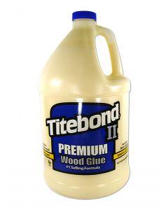 Franklin International Titebond II Premium Wood Glue 1 Gallon Translucent - Yellow Cross-linking Polyvinyl Acetate
